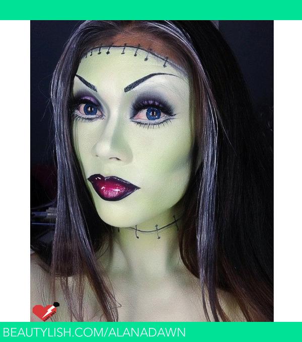 frankenstein halloween makeup alana ds alanadawn photo beautylish