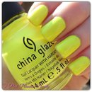China Glaze - Yellow Polka Dot Bikini