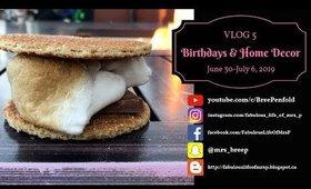 VLOG   Week 5 - All The Birthdays & Home Decor   Fabulous Life of Mrs. P
