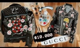 HOW TO MAKE THE $10,000 GUCCI JACKET