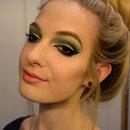 Gold Glitter+Greens