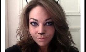 Halloween Tutorial - Cat Eyes!