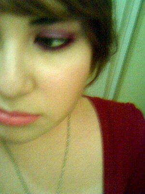 bad quality, but I love the pink under my eyes