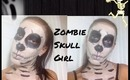 Halloween Look: Zombie Skull Girl