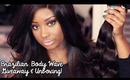 Unboxing + GIVEAWAY | Brazilian Body Wave Hair Extensions (Four Seasons Beauty)