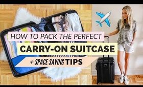 How To Pack The Perfect Carry-On Suitcase