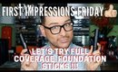 The Best Medium to Full Coverage Foundation Sticks? First Impressions Friday | mathias4makeup