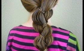 "Unique ""Braid In A Braid"" Easy Hairstyles"