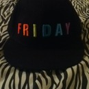 """FRIDAY"" SnapBack Hat"