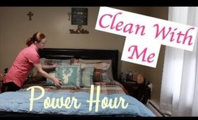 CLEAN WITH ME | POWER HOUR | JANUARY 2018