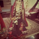 indian muslim wedding :) tried this look . hope u guys like it too :)
