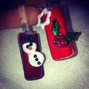 Christmas 3d nail art