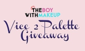 Urban Decay Vice 2 Palette International Giveaway