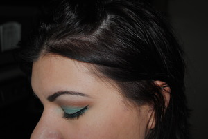 Side view (Independence day)  I used the Sigma Beauty Sampler that was handed out at IMATS...pretty colors :)
