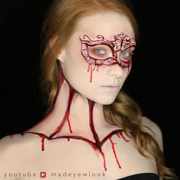 Gothic Romance Carved Mask Alexys F S Madeulookbylex