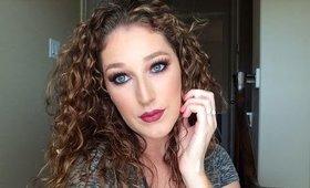 Fall Makeup Tutorial Ft. Morphe 35O l BeautyBySage