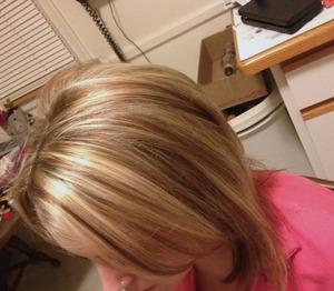 Christy F Christyfarabaugh Hair Color Highlights And