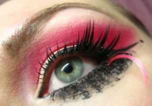 Bubblegum Pink Rock Chic [with an 80's twist]  Theme: Theatrical, 1980's Glam 2010