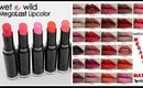 Wet N Wild | Megalast Lipstick collection