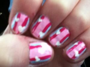 Valentina's day nails!