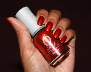 Orly Flicker from the Fired Up Fall 2012 collection. Check out Smolder at:  http://chinadolltt.blogspot.com/2012/08/orly-smolder-and-flicker-from-fired-up.html