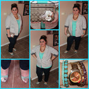 Plus Size OOTD: Spring Trend Mint