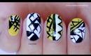 Geometric Modern Nail Design
