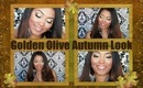 Fall Makeup Series: Golden Olive Autumn Eyes & Warm Nude Lips
