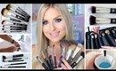 How To Clean Makeup Brushes ♡ NEW xoBeauty Italian Brush Range!
