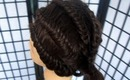 Edgy Slip Knot Braid | Back To School Hairstyles