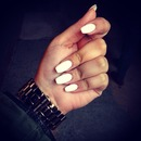 All white nails :)