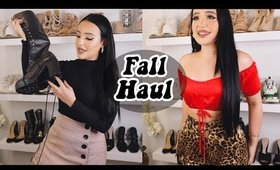 FALL CLOTHING HAUL (TRY ON) | Amanda Ensing
