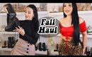 FALL CLOTHING HAUL (TRY ON) | Amanda Ensing