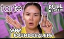 Worth It?! TARTE FOUNDCEALER FULL REVIEW + GYM WEAR TEST | Maryam Maquillage