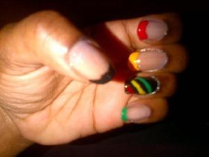 JAH, Rastafari! LOL Representing