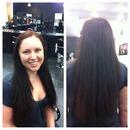 Coppery Brunette Hair