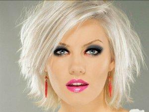 Platinum White Hair Color