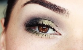 Olive Green Smokey eyes tutorial