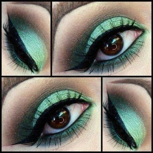 Found this on Tumblr and absolutely loved the green color :)