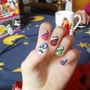 Comic book nail art