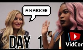 I'M A MESS - VIDCON 2017 DAY 1 | feat iJustine!