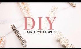 How to : DIY Hair Accessories | Milk + Blush