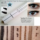 ELF Essential Triple Tip Waterproof Eyeliner Pen