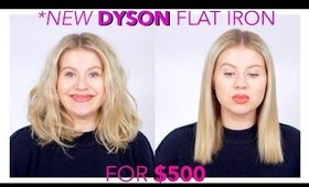 NEW DYSON FLAT IRON for $500... WHY SO EXPENSIVE?!