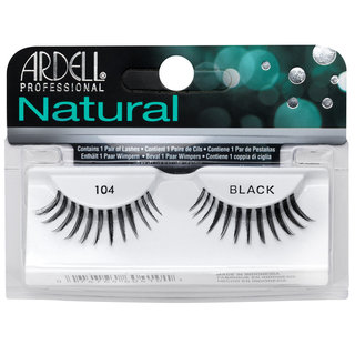 Natural Lashes 104 Black