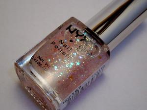 NYX Girls nail polish in Dreamy Glitter.