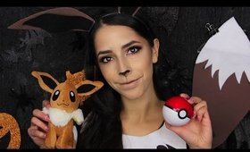 $6 Eevee Pokemon Halloween Makeup Tutorial