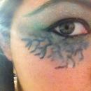 start of monster eyes