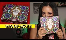 Review & Swatches Urban Decay Alice Through The Looking Glass Eyeshadow Palette