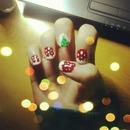 Christmas Nails 2012